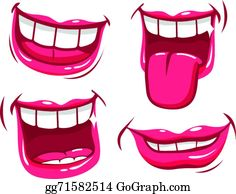 Laughing Mouth Clip Art.