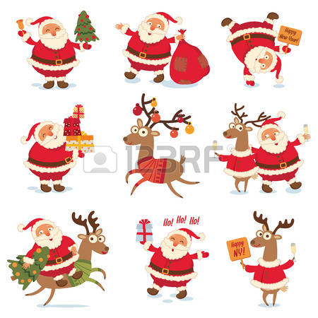 2,675 Santa Laughing Stock Vector Illustration And Royalty Free.