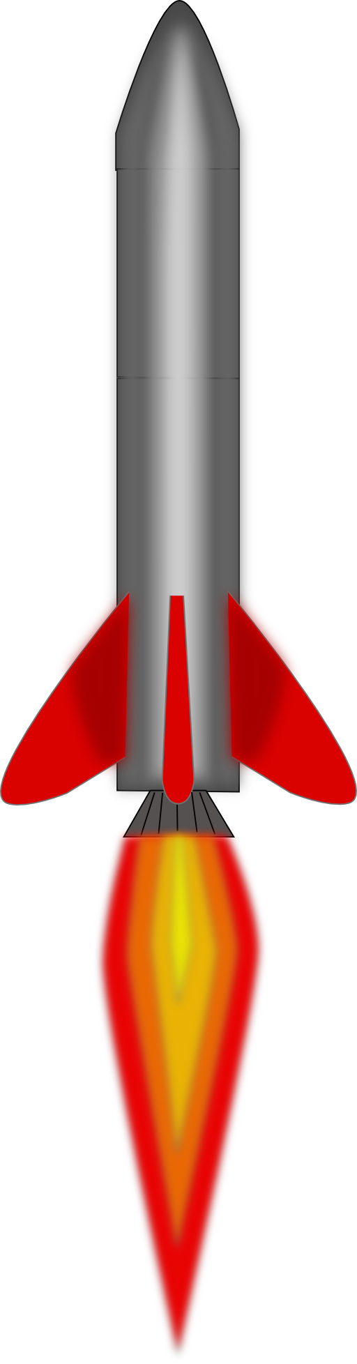 Rocket launch clip art.
