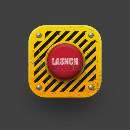 2,343 Launch Button Stock Vector Illustration And Royalty Free.