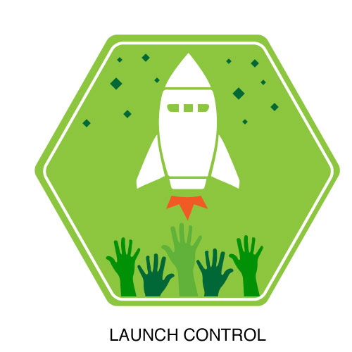 Launch Control Badge and Double Points Weekend.