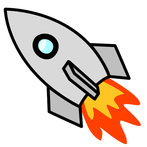 156 rocket launch clip art.