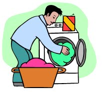 Laundry clipart 2 image.