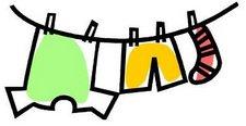 Laundry clipart 3.