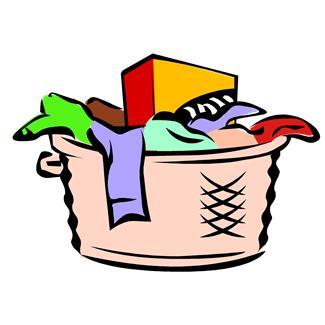 Free laundry clipart.