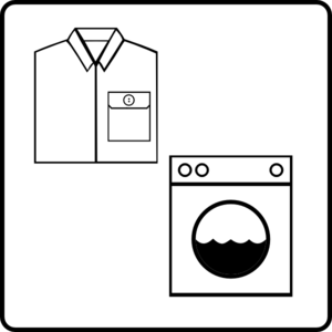 Hotel Icon Has Laundry Service Clip Art at Clker.com.