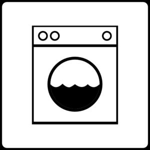 Laundromat Clipart.