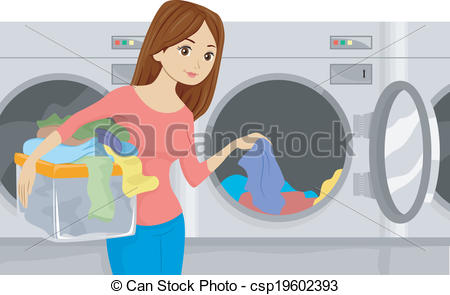 Laundromat Clipart Vector Graphics. 844 Laundromat EPS clip art.