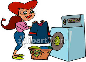 Do the laundry clipart.