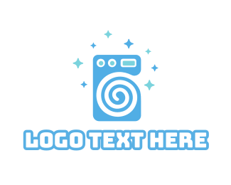 Laundromat Logos.