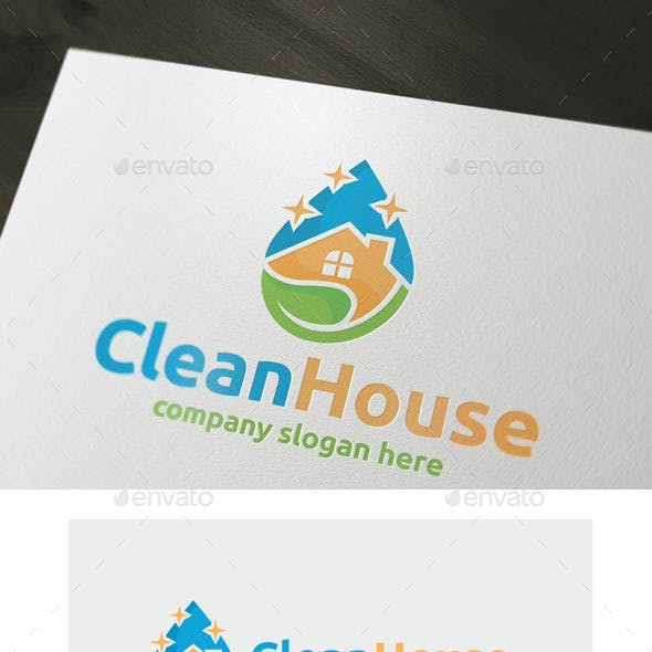 Laundromat Logo Templates from GraphicRiver.