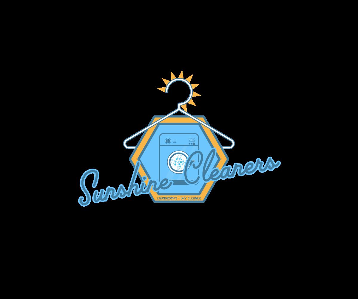 Elegant, Playful, Laundromat Logo Design for Sunshine.