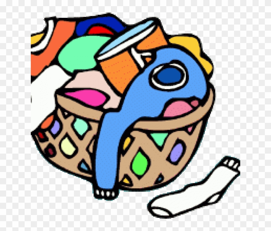 Clip Art Transparent Animated Laundry Basket Gallery.
