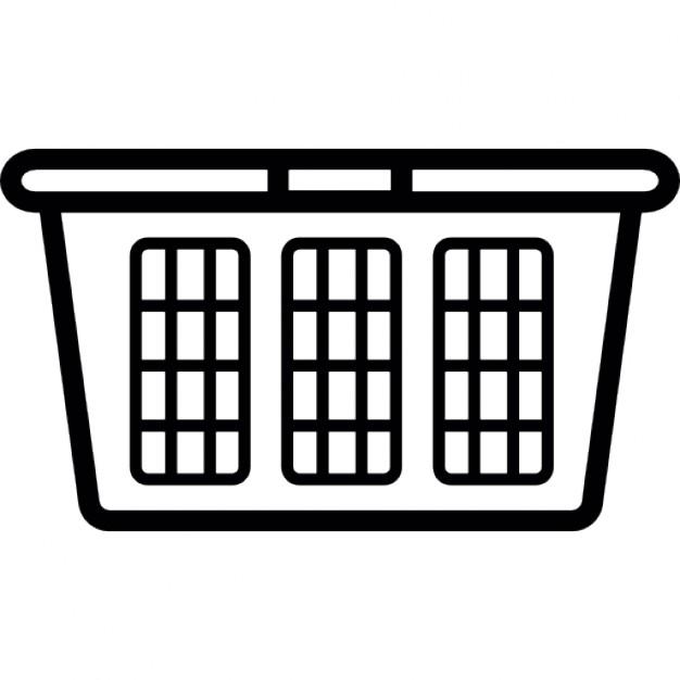 Laundry Basket Clip Art.