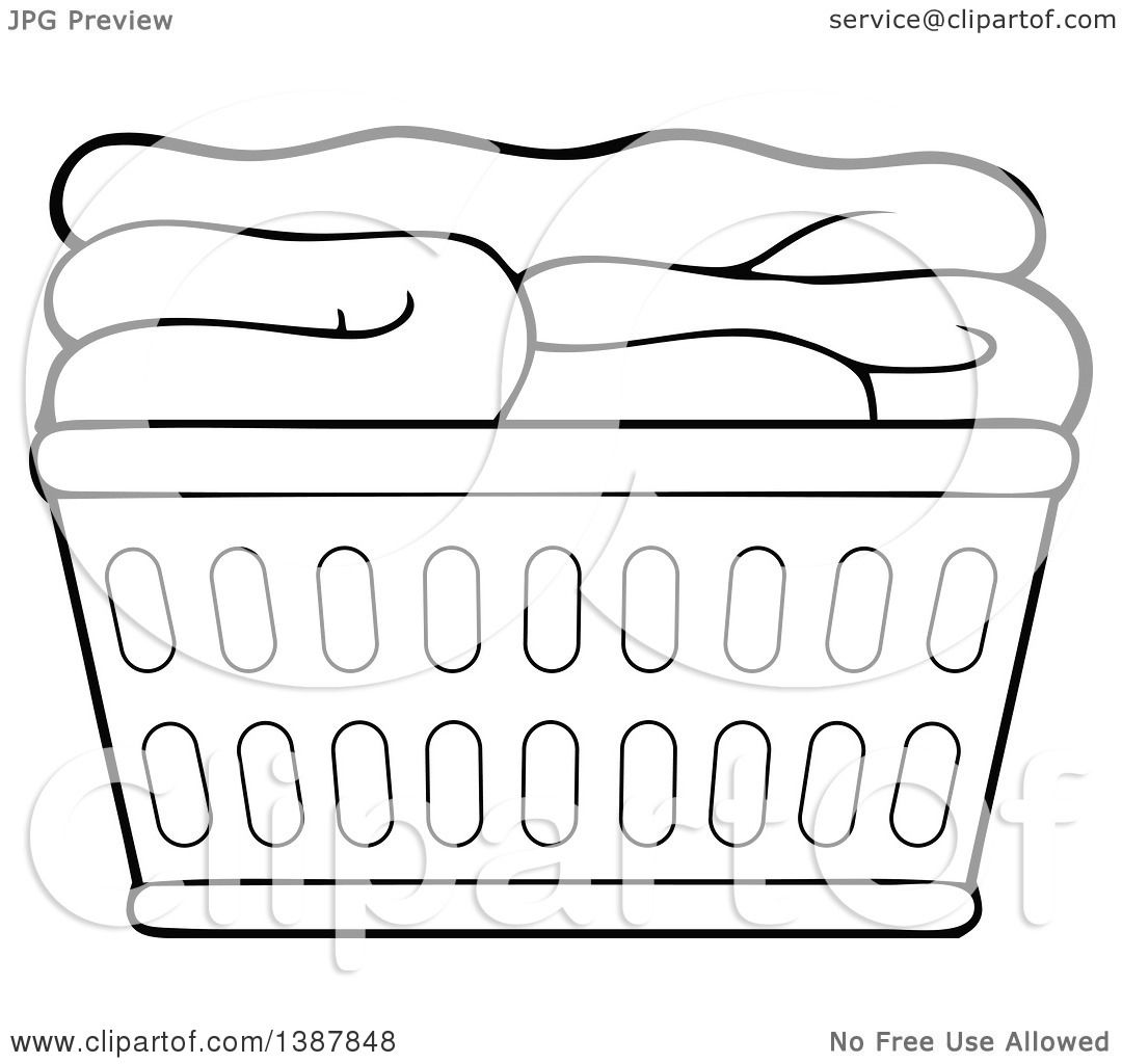 Showing post & media for Cartoon laundry basket clip art.