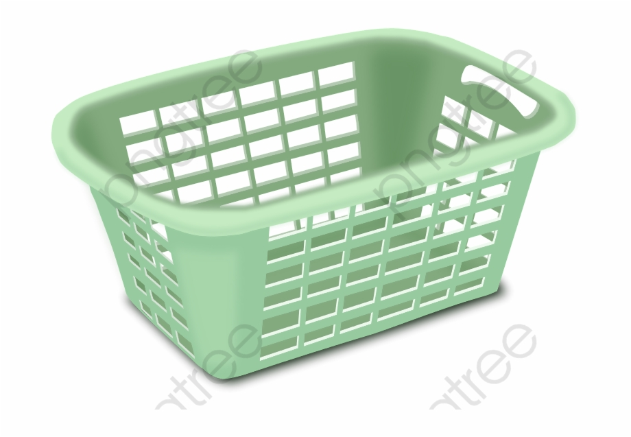 Laundry Basket Clipart.