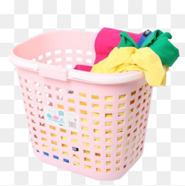 Laundry Basket PNG Images.