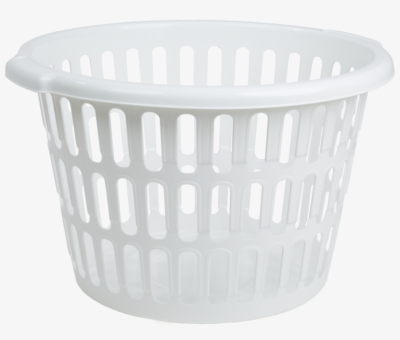 Everyday D538 Round Laundry Basket White Recycled.
