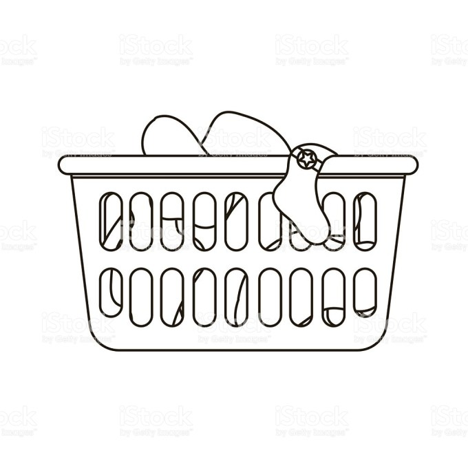 Laundry clipart black and white 6 » Clipart Portal.