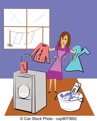 Laundry day Illustrations and Stock Art. 183 Laundry day.