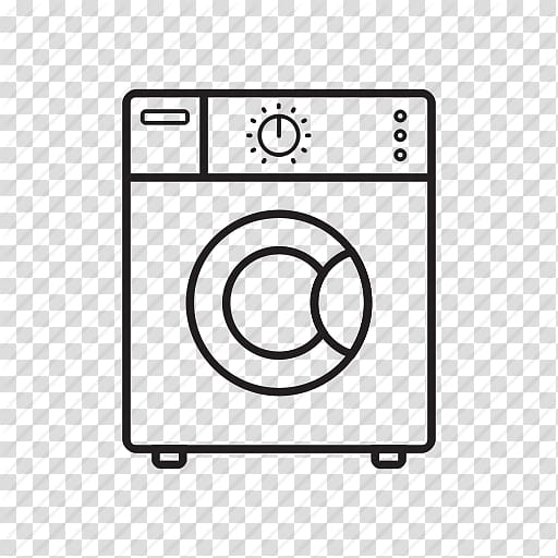 Washing Machines Laundry Home appliance Computer Icons.