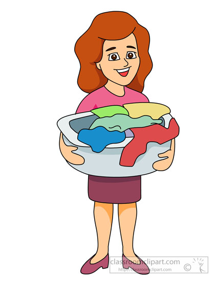 Free laundry clipart clip art image of 3.