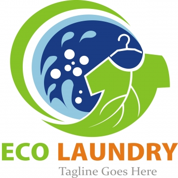 Laundry Logo PNG Images.