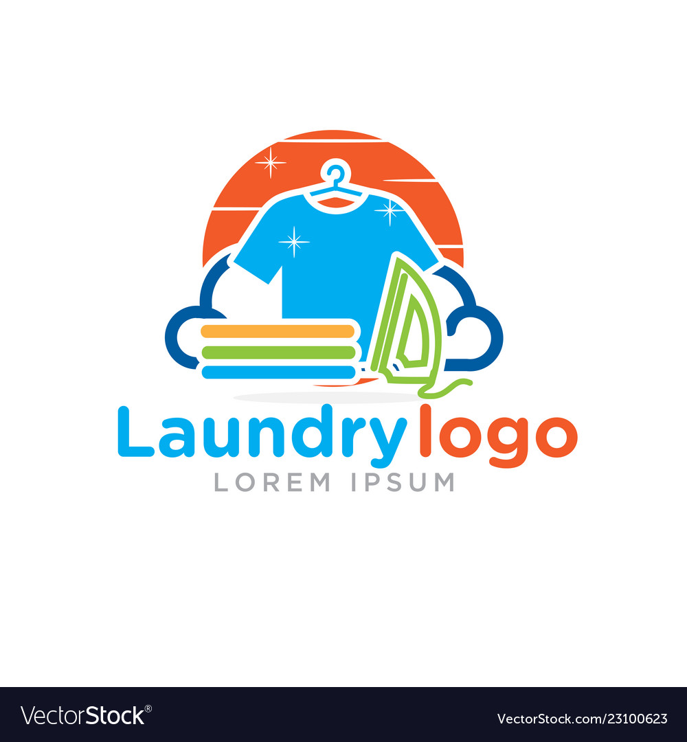 Laundry logo designs.
