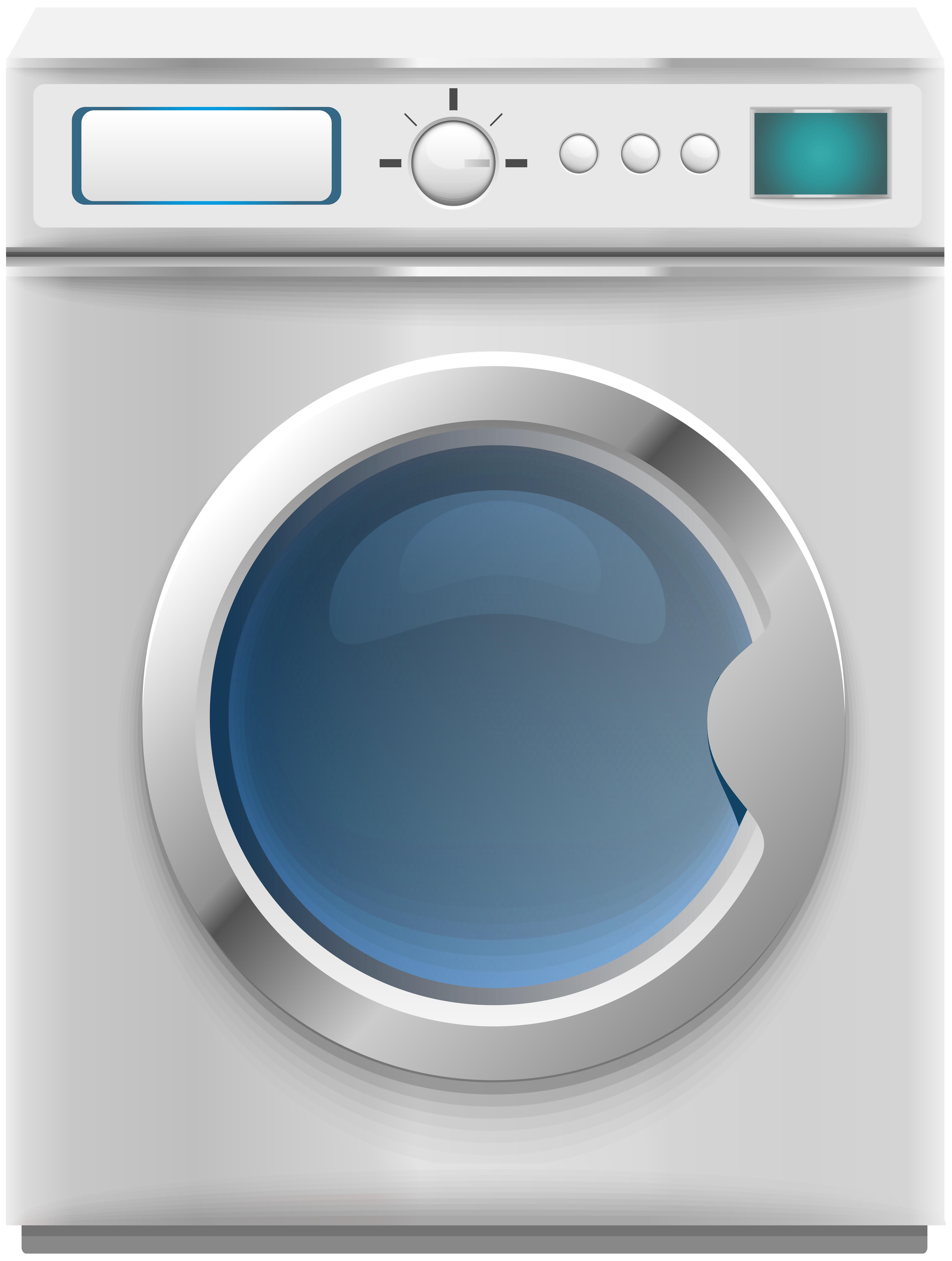 Washing Machine PNG Clip Art.