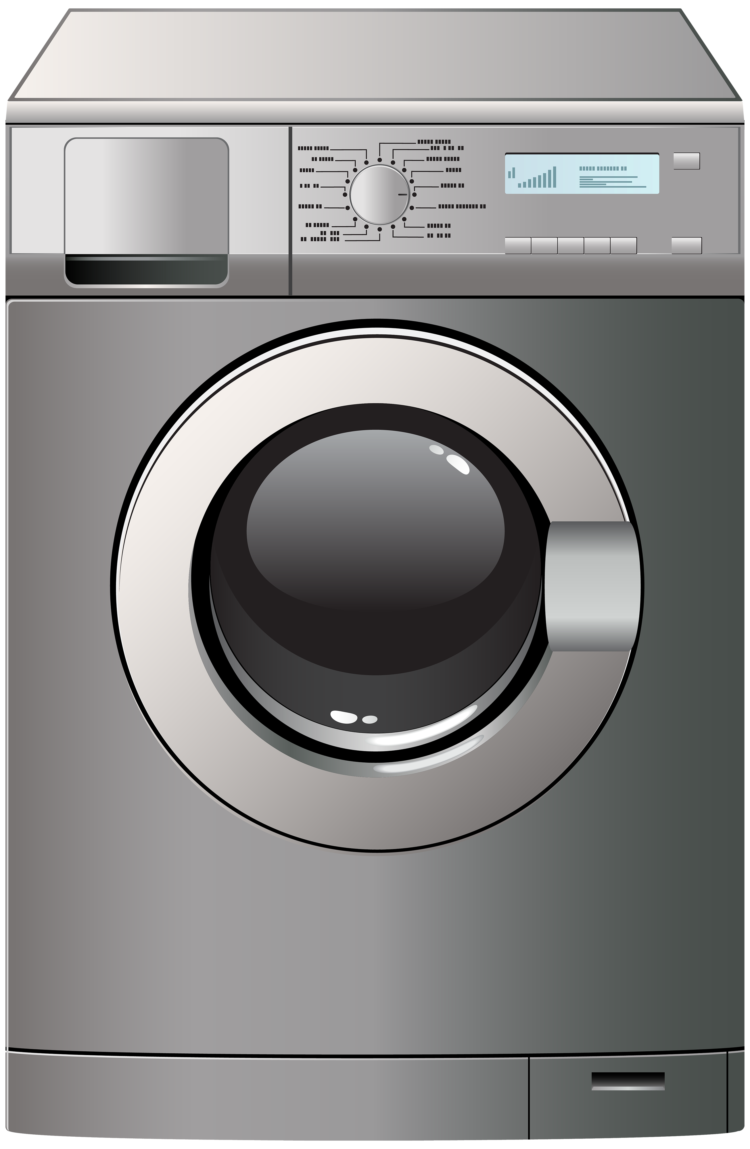 Washing Machine PNG Clipart.