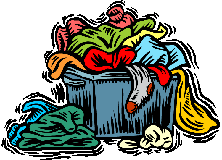 Pile Of Clothes Clipart.