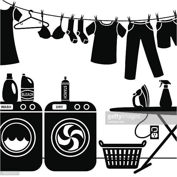 39 Laundry Room Stock Illustrations, Clip art, Cartoons.