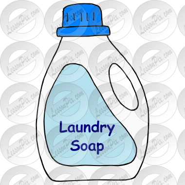 Laundry Soap Picture for Classroom / Therapy Use.