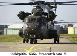 Air force caucasian ch 53 super stallion aircraft air force Stock.
