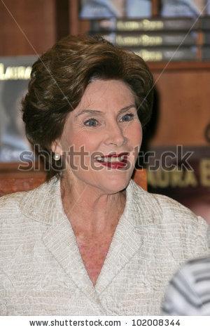 Laura Bush Stock Photos, Royalty.