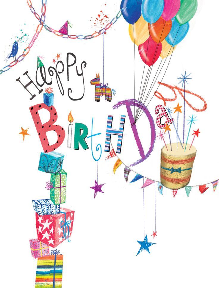 Happy birthday laura clipart.