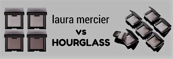 Laura Mercier Candleglow vs Hourglass Ambient Lighting.