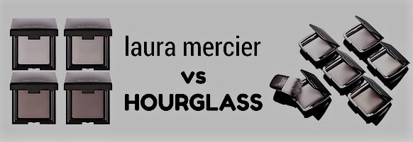 Laura Mercier Candleglow vs Hourglass Ambient Lighting.