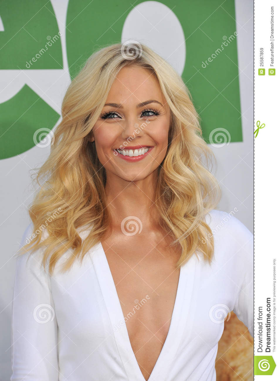 Laura Vandervoort Editorial Stock Image.