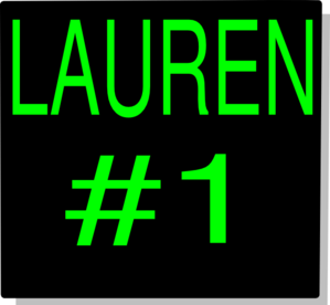 Lauren 1 Clip Art at Clker.com.