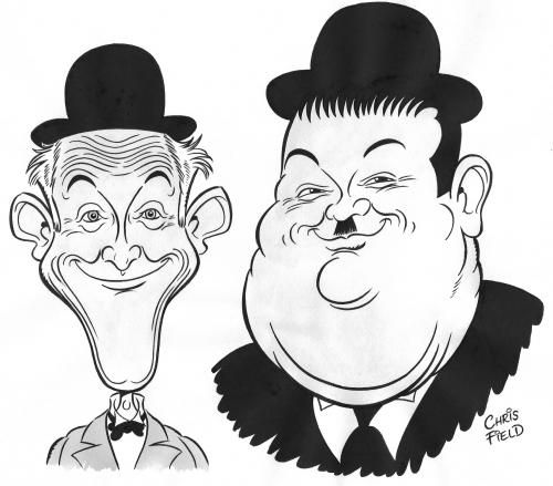 Funny Caricatures of Famous People.