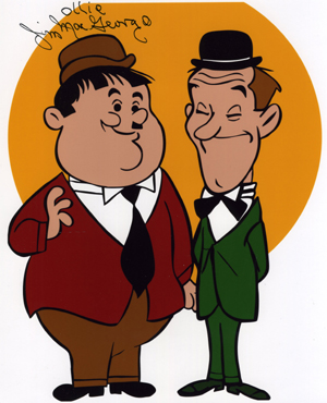 The Terrible Catsafterme » Blog Archive » He Played Stan…And Ollie!.