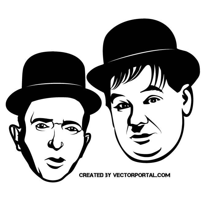 Laurel And Hardy Clipart Clipground