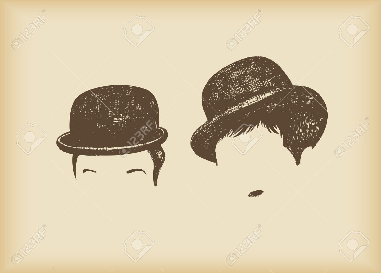 Where Is Laurel & Hardy? Royalty Free Cliparts, Vectors, And Stock.