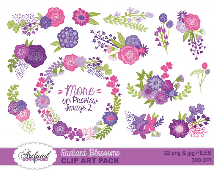 Orchid clipart.