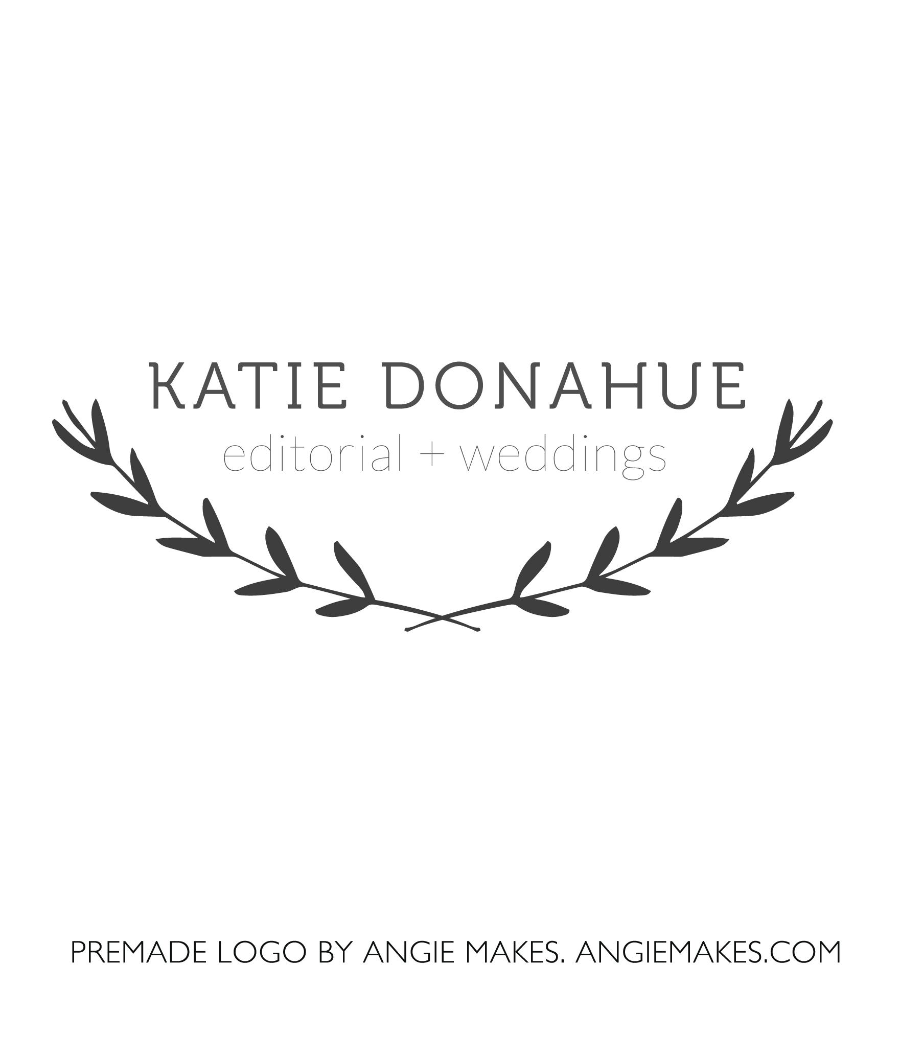 Katie Modern Laurel Branch Logo.