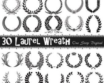 Laurel clip art.