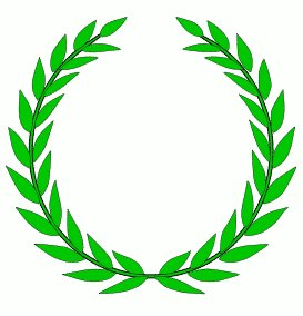 Free laurel wreath clipart.