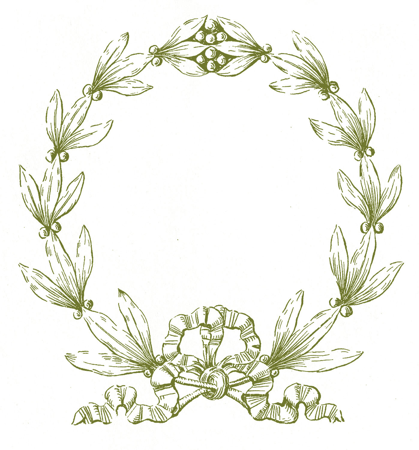 Free Wreath Clip Art Pictures.