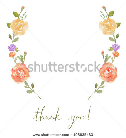 Flower Laurel Wreath Happy Birthday Calligraphy Stock Vector.
